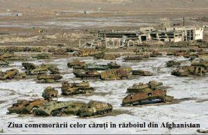 Mesaj de felicitare cu ocazia comemorării celor căzuți în războiul din Afghanistan.