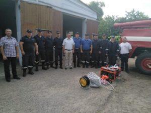 Ne dorim ca societatea să se simtă protejată, alături de un Post de Salvatori și Pompieri bine dotat!