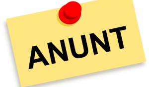 ANUNȚ/ОБЪЯВЛЕНИЕ