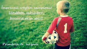 Activitatea cercului de fotbal în localitatea Iargara