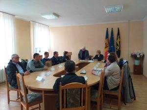Ședința de constituire a Consiliului orășenesc Iargara