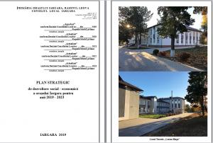 Planului strategic de dezvoltare social-economica a orasului Iargara pentru anii 2019-2023.