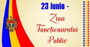 Mesaj de felicitare cu ocazia  Zilei Funcţionarului Public