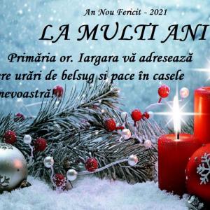 Felicitare cu ocazia sărbătorilor de iarnă