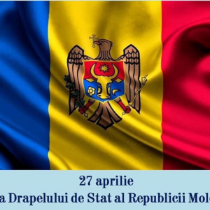LA MULTI ANI DE ZIUA DRAPELULUI DE STAT AL REPUBLICII MOLDOVA