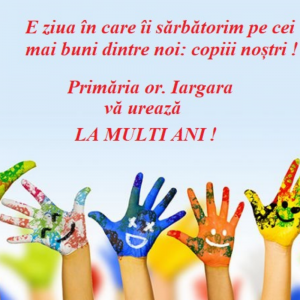Ziua Internațională a copiilor!